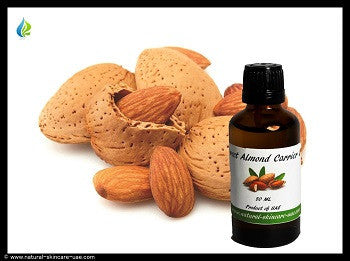 Sweet Almond Carrier Oil (50 ml) | NATURAL COSMETIC UAE