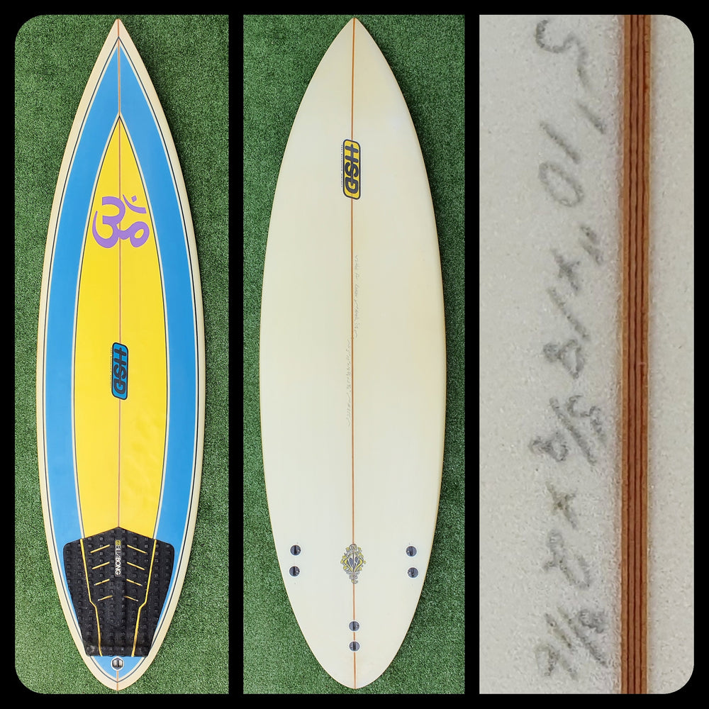 5'10 Hud Surf Design Custom