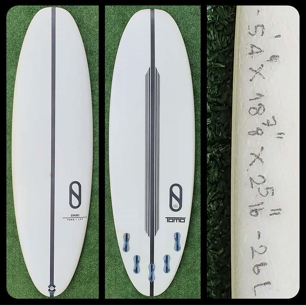 5'4 Slater Designs Omni New