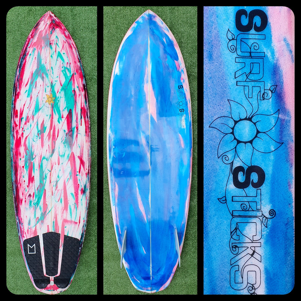 5'6 Surfsticks Glass in Twin