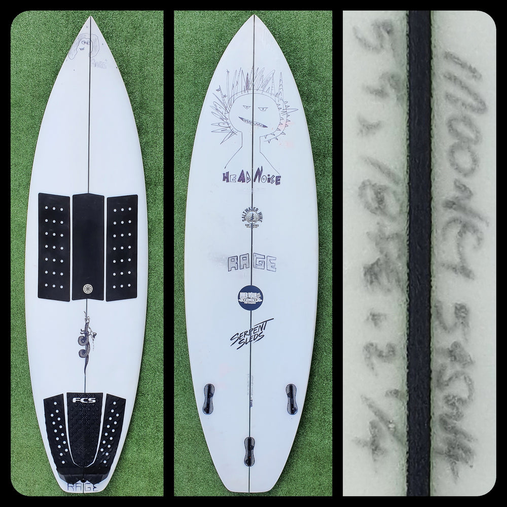 5'9 Serpent Sled Custom