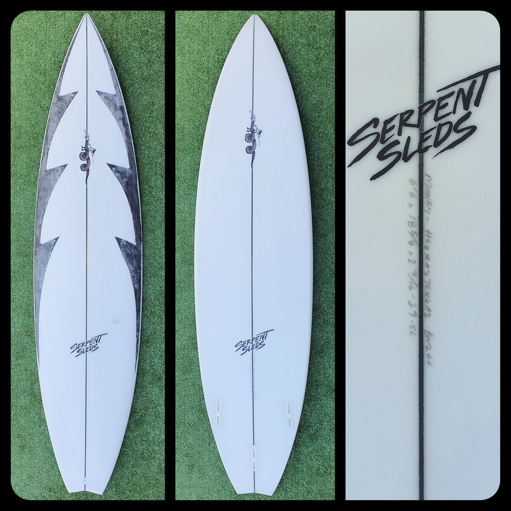 6'6 Serpent Sleds Hekkaz Tekkaz New
