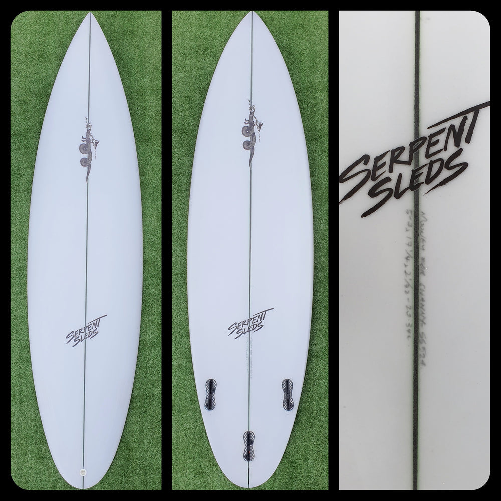 5'7 Serpent Sled Custom New