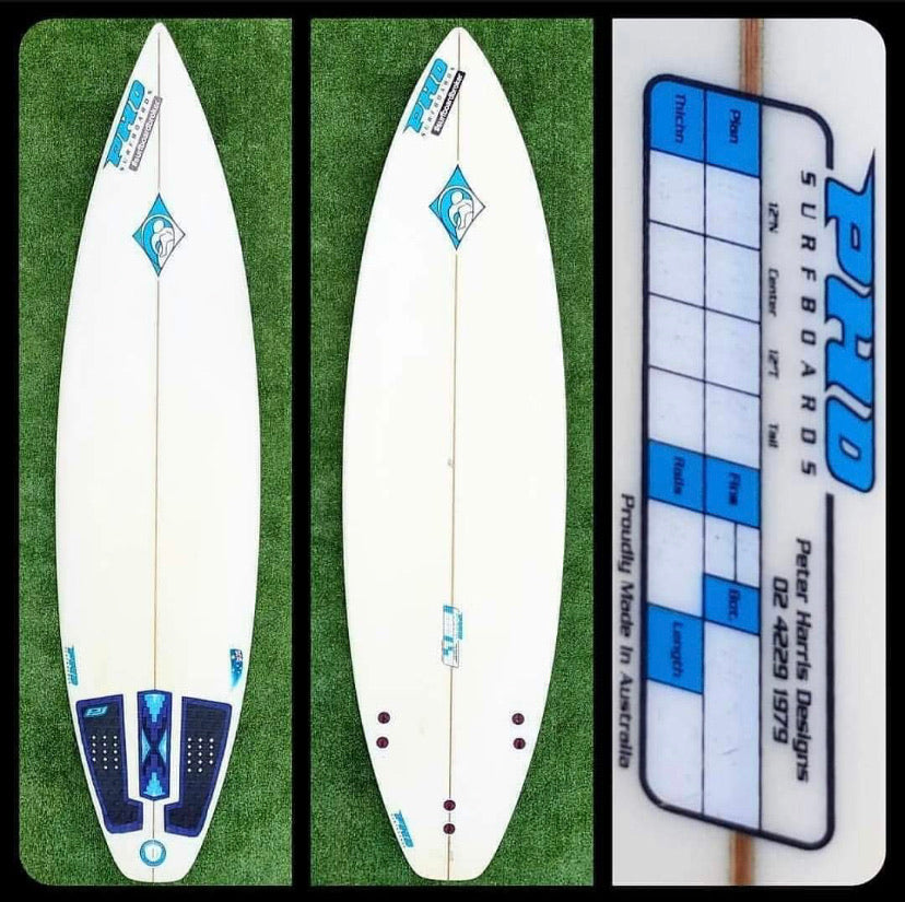 6'2 Peter Harris Custom