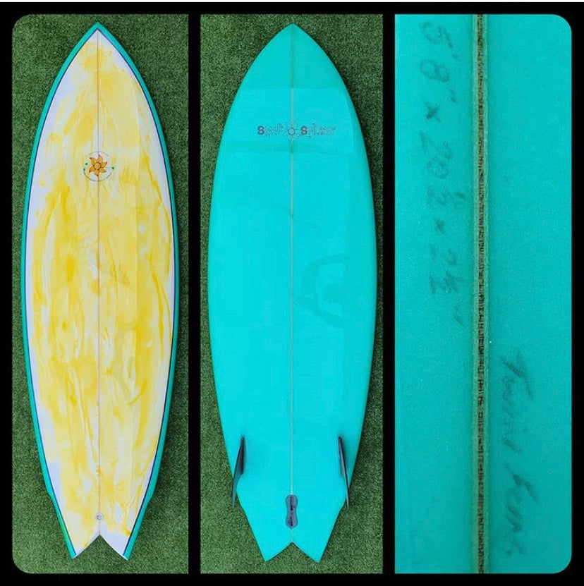 5'8 Surfsticks Custom Twin