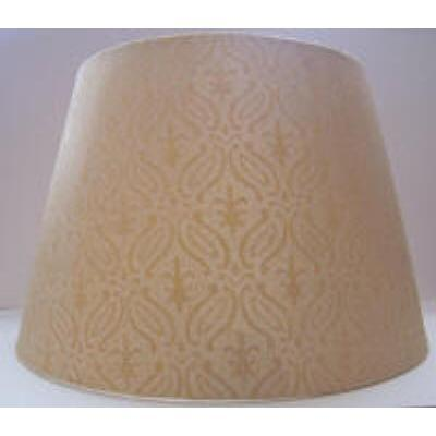 Traditional Rich Gold Brocade Lamp Shades