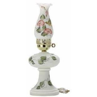 21051 - Hummingbird Hand Painted Electified Oil Lamp