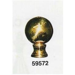 59572 - Brass Ball Finials
