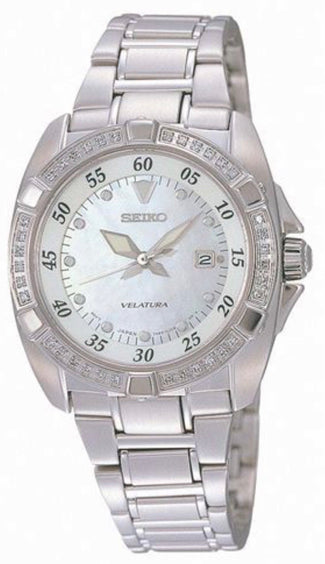 Seiko Ladies Diamond Set Watch SXDA19