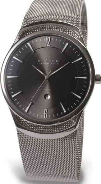 Skagen Gents Mesh Watch 597LSSM