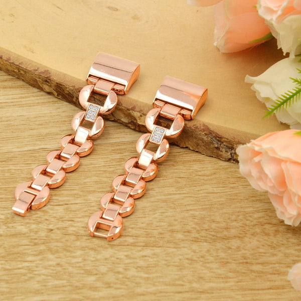 Stainless Steel Replacement Bands Strap for Fibit Charge 2 Watchband Rose-gold