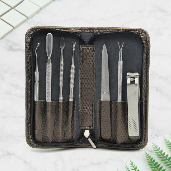 Becoyou 7 PCS Stainless Steel Manicure Tools Set