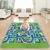 Satkago Carpet Playmat Rug for Kids Baby Bedroom Play Room Game Play Mat
