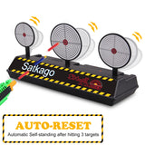 Satkago Electric Auto Reset Target Toy Compatible with Nerf N-Strike Shooting Game