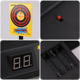 Satkago Funny Expression Electric Automatic Scoring Target Toy Compatible with Nerf