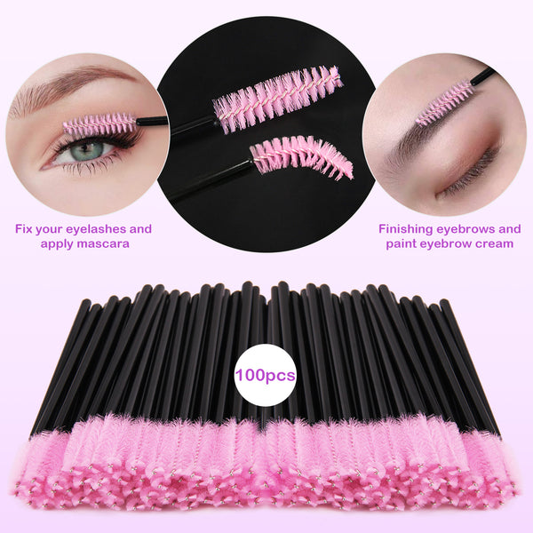 Becoyou Disposable Mascara Wands Micro Swab Applicators Brush Eye Gel Pads Patches