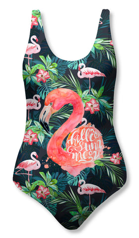 Traje de Baño Fishikii FLAMENCO TROPICAL| BAM.42