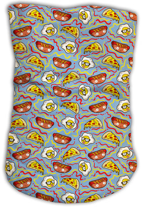 Cuello Buff Fishikii Funny Food Unisex | BUFF.01