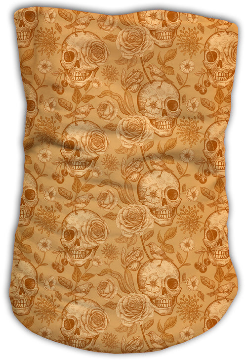 Cuello Buff Fishikii Gold Skull Unisex | BUFF.10