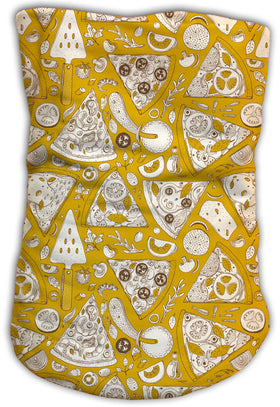 Cuello Buff Fishikii Yellow Pizza Party Unisex | BUFF.19