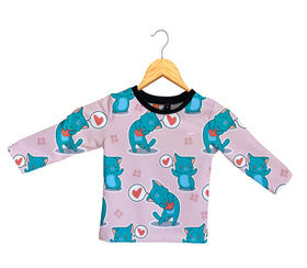 Camiseta Manga Larga Bebé Fishikii Lovely Kitten | CAM-LARGA-BB.03