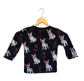 Camiseta Manga Larga Bebé Fishikii Bull Dog  | CAM-LARGA-BB.12