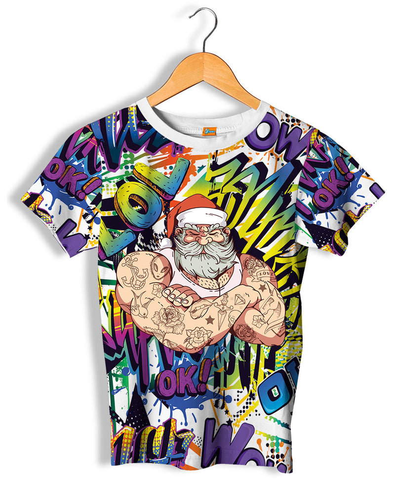 Camiseta Fishikii Unisex Bad Santa | CAM.283