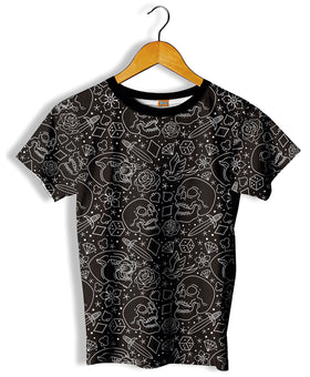 Camiseta Fishikii B&W Old School Unisex | CAM.322