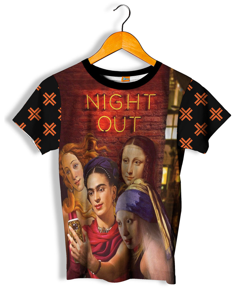 Camiseta Fishikii Night Out Unisex | CAM.336