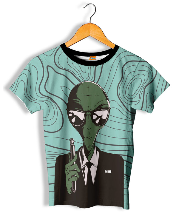 Camiseta Fishikii Alien in Black Unisex | CAM.338