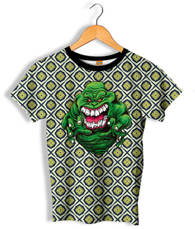 Camiseta Fishikii Green slime Unisex | OUTLET-CAM.386