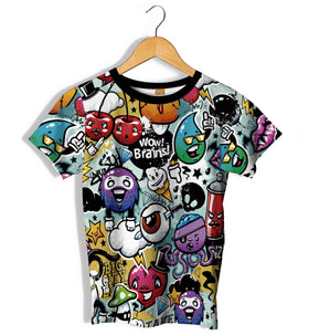 Camiseta Fishikii Brains Unisex | CAM.74