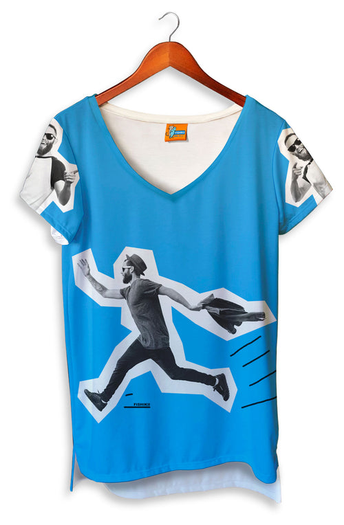 Camiseta Fishikii Pico para Hombre I CAN do it! | CAMH-PICO.04