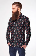 Camisa Manga Larga Hombre Let it Rock| CAMISAH.01 - FISHIKII MODA