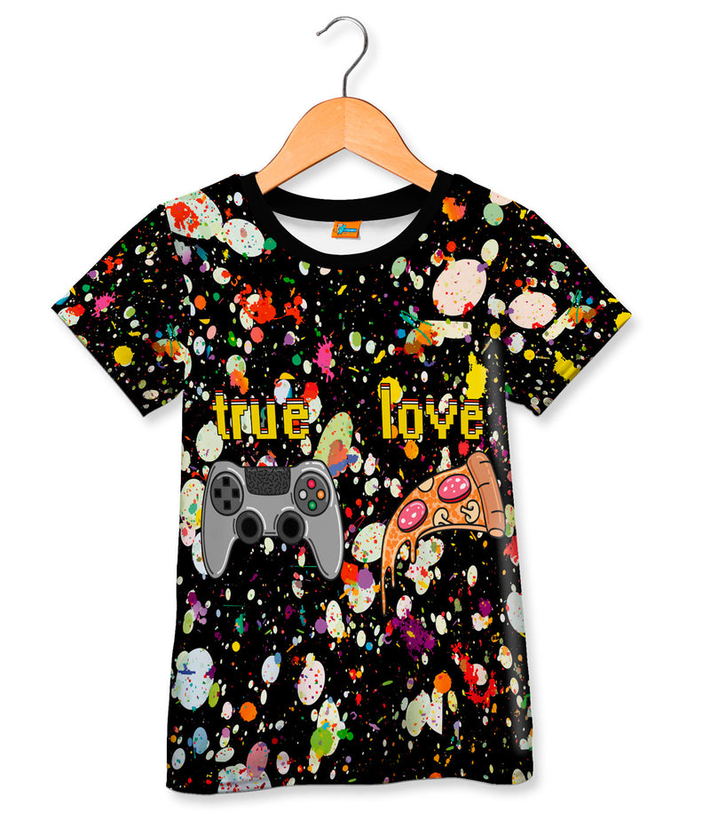 Camiseta Fishikii Game True Love para niños | CAMN.26