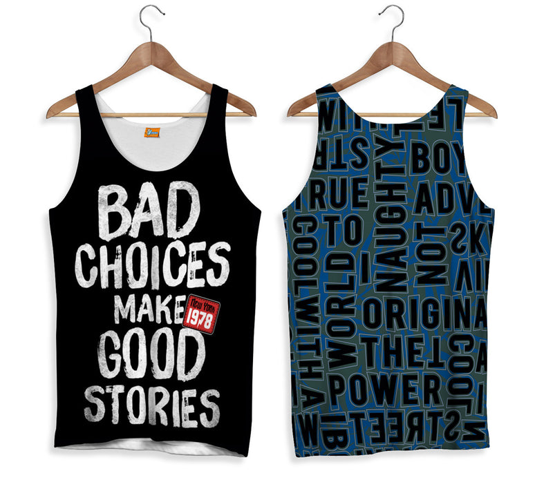 Camiseta de Tirantes BAD CHOICES | CAMT.114 - FISHIKII MODA