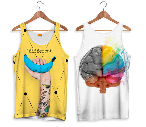 Camiseta de Tirantes Banana Different | CAMTM.154