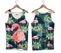 Camiseta de Tirantes FLAMENCO TROPICAL| CAMT.172