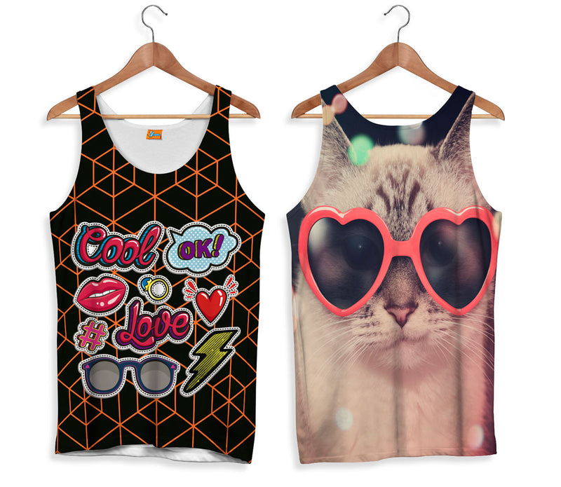 Camiseta de Tirantes Fishikii Cool Love | CAMTM.36