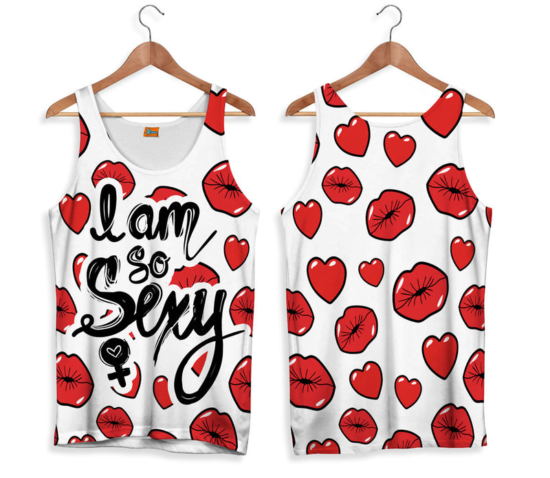 Camiseta de Tirantes Fishikii I Am So Sexy | CAMTM.62