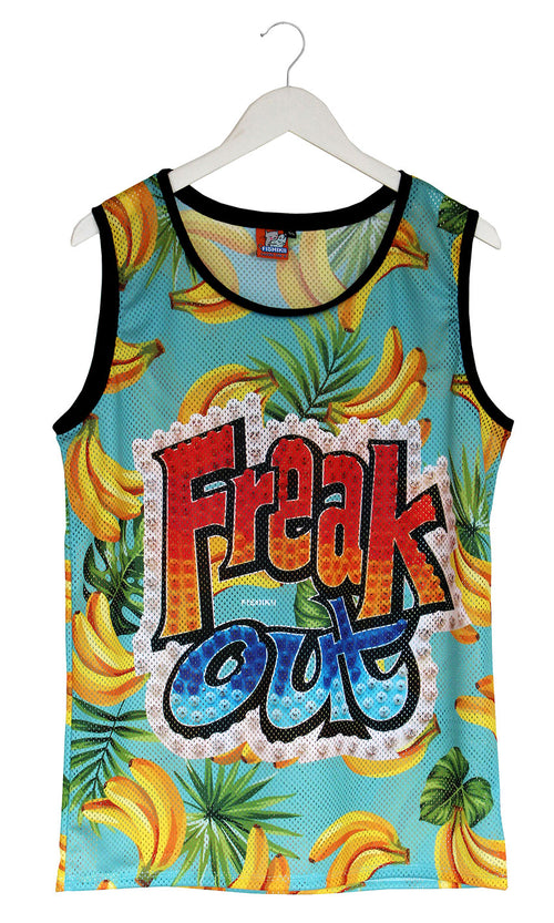 Camiseta de Tirantes Perforada Freak Out | CAMT_PERFO.04
