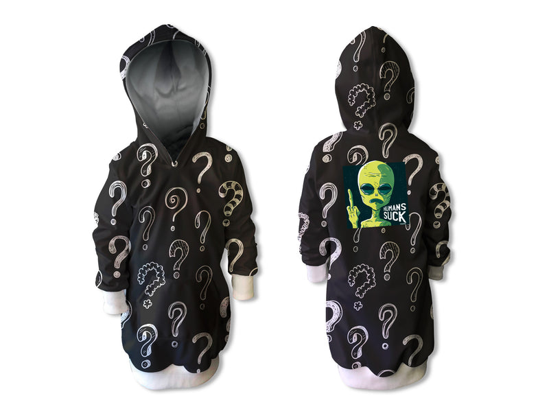 Vestido Sudadera Humans Suck infantil | CAN-VESTN.20