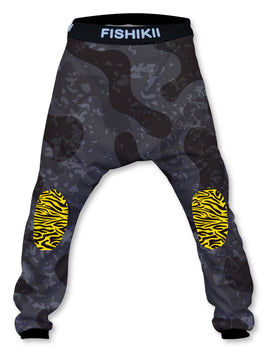 Pantalón Crazy Baggy Unisex Fishikii Camuflaje negro | CRAZY-BAG-NEW.12