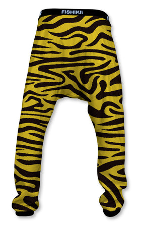 Pantalón Crazy Baggy Unisex Fishikii Zebra Amarilla | CRAZY-BAG-NEW.13
