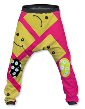 Pantalón Crazy Baggy Unisex Fishikii Colored Daisies | PANT-CRAZY.04