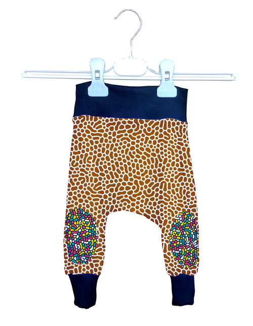 Pantalón Crazy Baggy Bebé Fishikii Colorful Print | BAGGY-BB.03