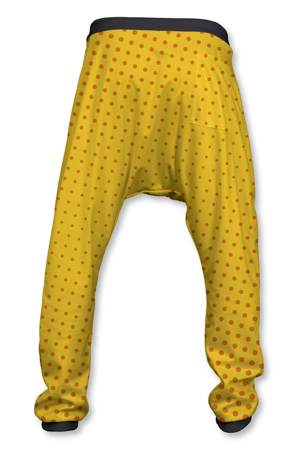 Pantalón Crazy Baggy Yellow and Polka Dots | PANT-CRAZY.02