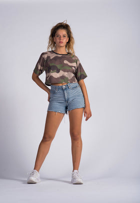 Camiseta Crop Top Fishikii | CROP-TOP.08