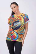 Camiseta Fishikii Hippy Bus Unisex | CAM.49