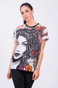 Camiseta Fishikii Flower Woman Unisex | CAM.116